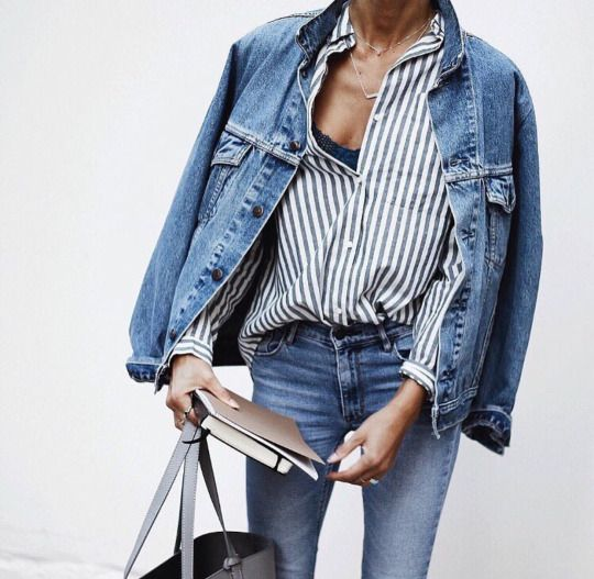 spring_ fall_ detail, button-up shirt, denim jacket, jean jacket, light blue denims