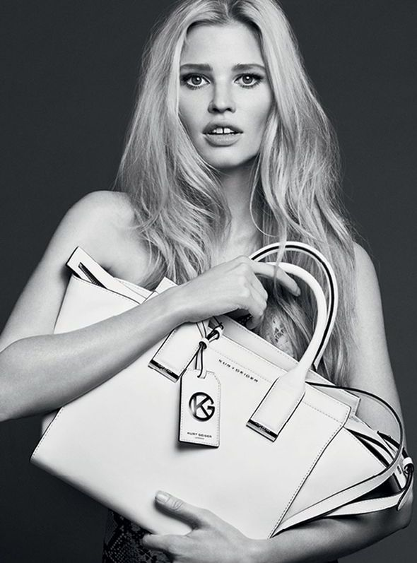 Lara Stone is the new face of Kurt Geiger