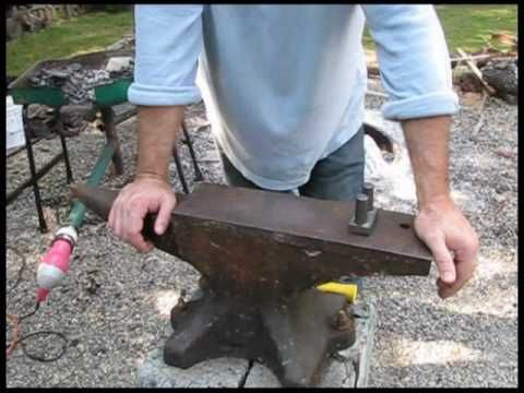 ▶ Introduction to the Anvil - Blacksmithing 5 - YouTube