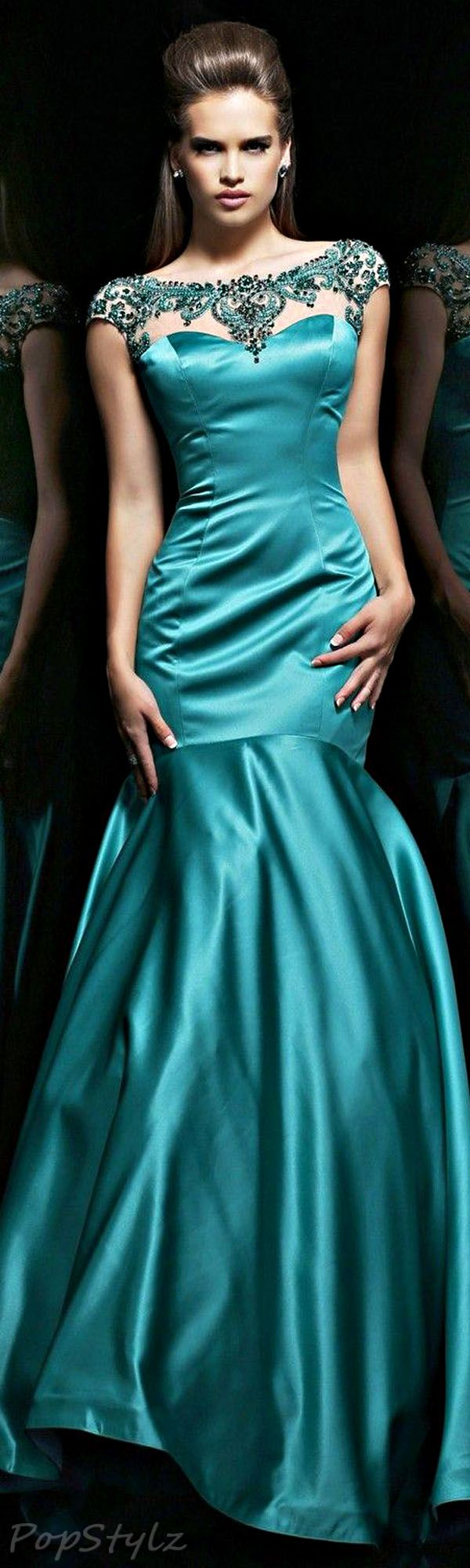 Sherri Hill 21281 Emerald Gown