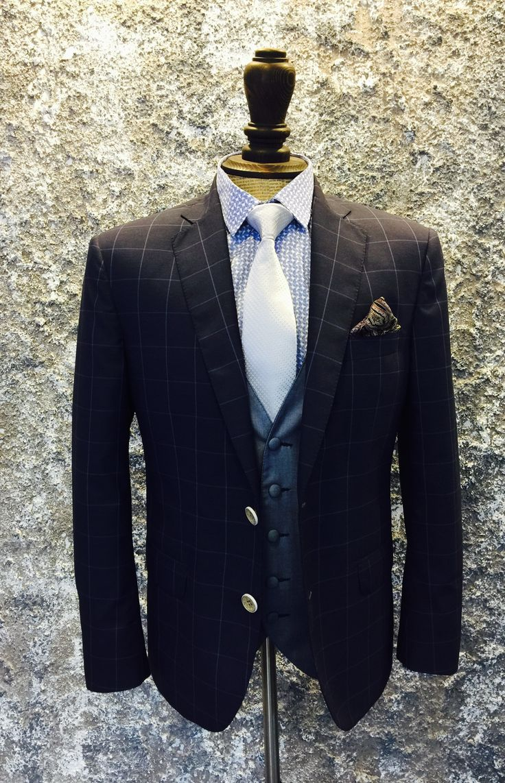 #Wedding Men  #Vintage #Suitstyle #blue