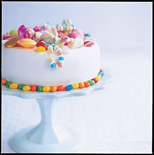 """""""sweet shop"""" cake"""