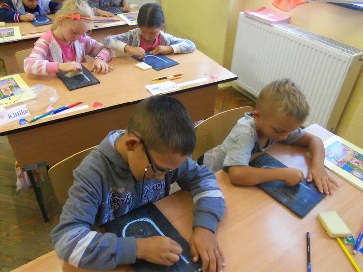 Játékos tanulás és kreativitás: Betűelemek, betűk írásának gyakorlása eszközzel