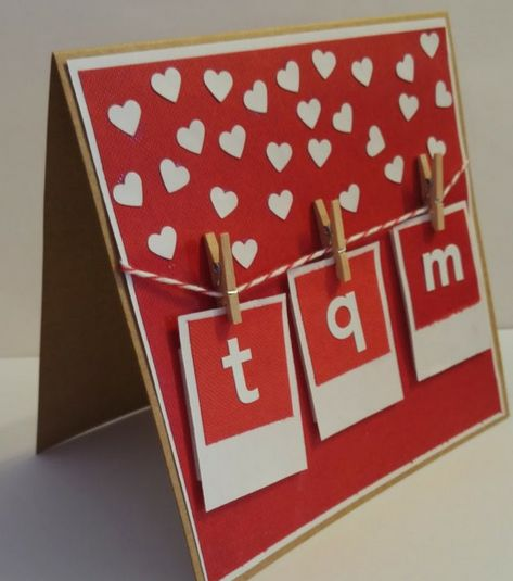6 tarjetas DIY para San Valentín | The Blog