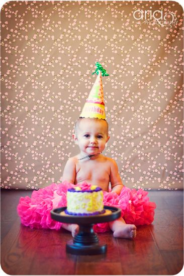 10 pictures to take on baby's first birthday