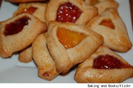 hamantaschen...Yum!  Check out my website at:  http://ponderinglife.webs.com