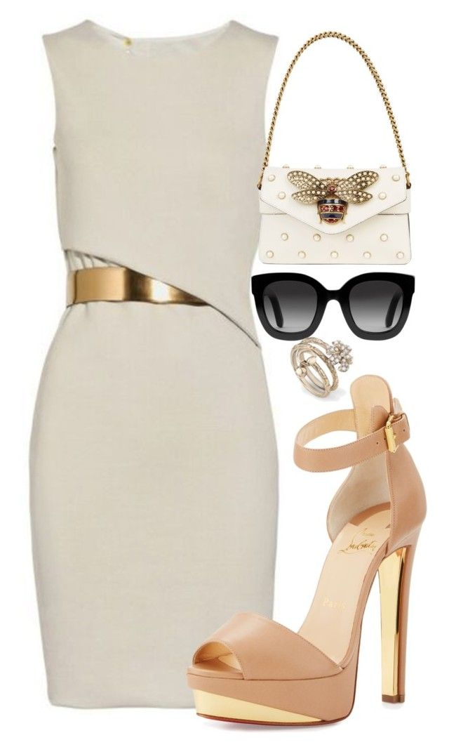 """""""Untitled #293"""" by streetstyle21 on Polyvore featuring Gucci and Christian Louboutin"""