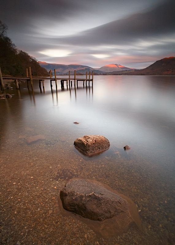 Last Evening Light on Derwent Water