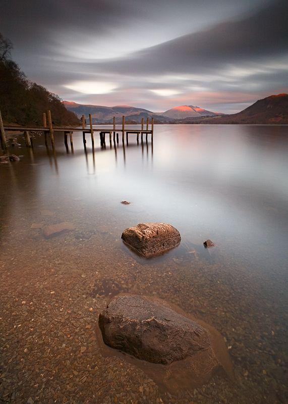 Last Evening Light on Derwent Water