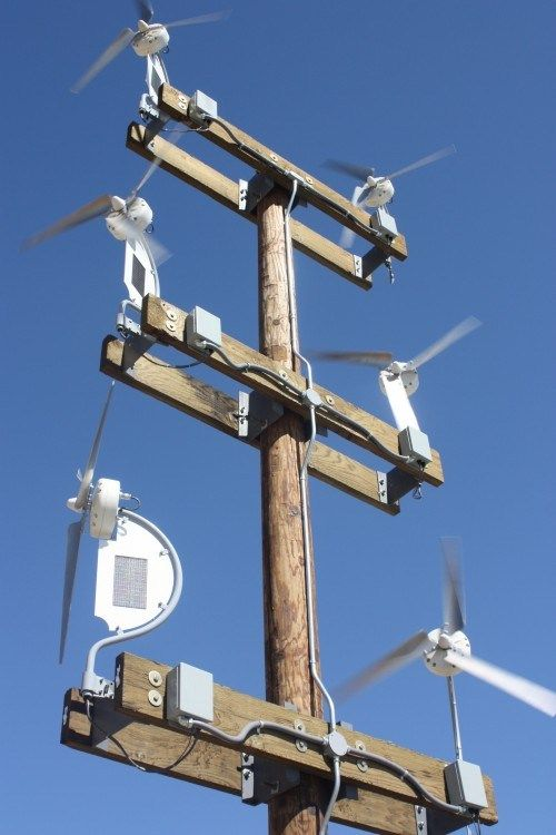 Hybrid Wind/Solar Power Generators for Homes Businesses | CleanTechnica                                                                                                                                                                                 Más