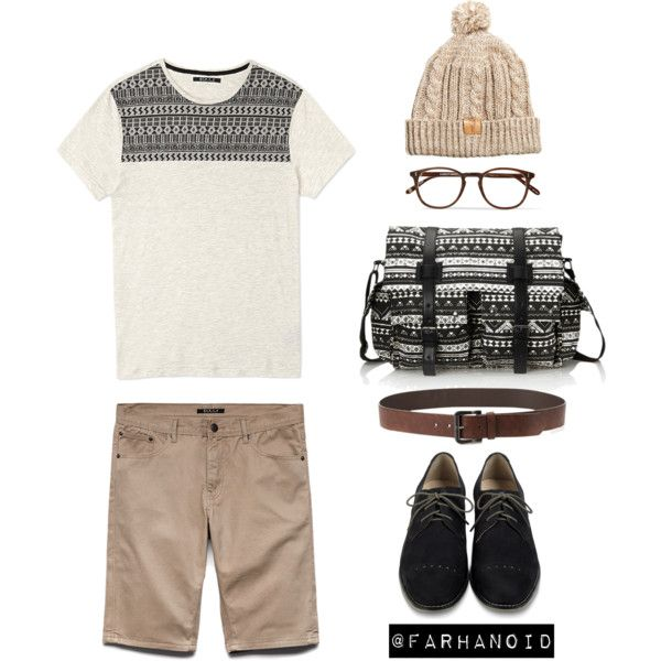 """Heathered tribal"" by farhanoid on Polyvore"