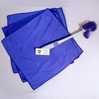 The purple rags... They are amazing... so worth the investment.   They do all they say they will and more.
