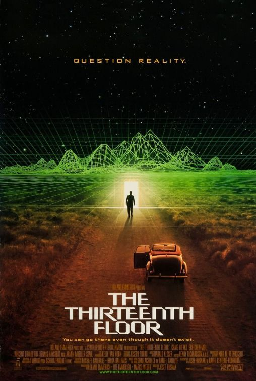 The Thirteenth Floor Movie Poster 1999