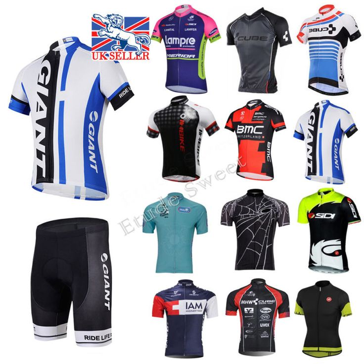 Uk #casual mens team cycling #jersey bib shorts kits bicycle tops short #sleeve,  View more on the LINK: http://www.zeppy.io/product/gb/2/172255162505/