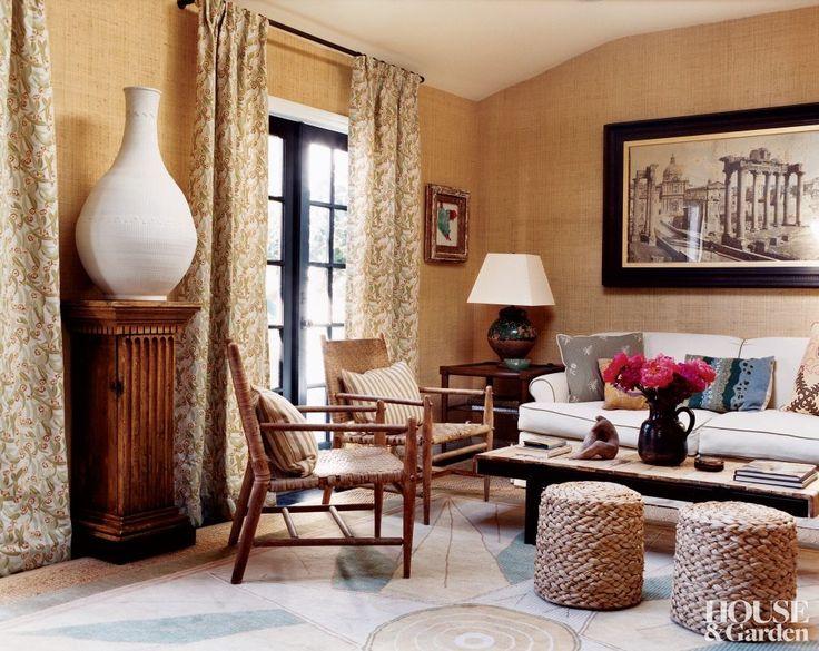 Peter Dunham The Living Room Of Designer Dunhams Los Angeles Home