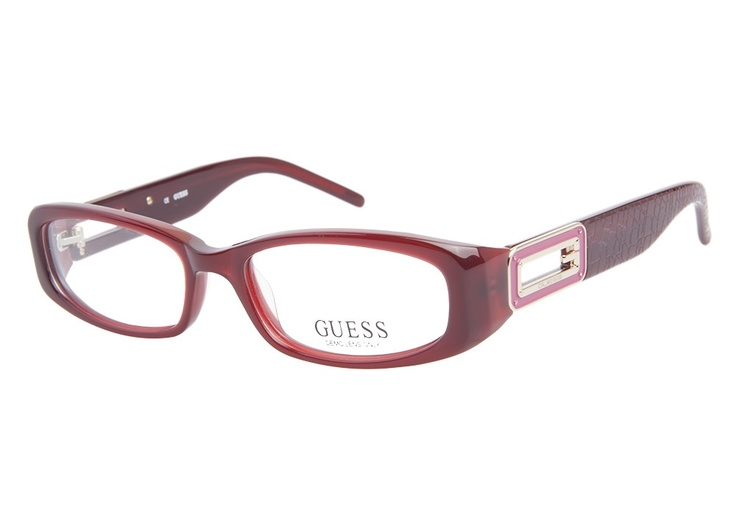Guess 1643 Burgundy | It's Your Lucky Day! Love this frame? Re-pin it for your chance to win it!