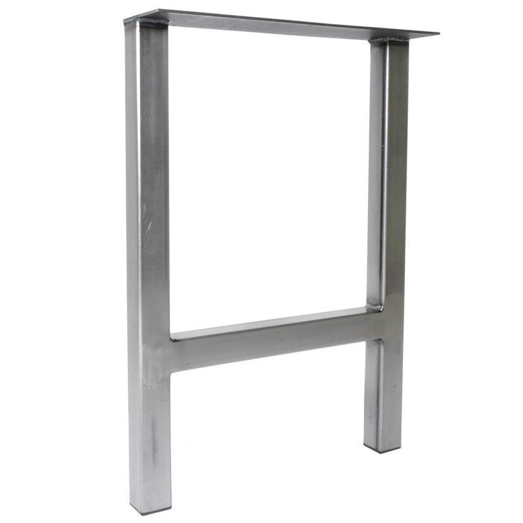 Unique Metal Table Leg H Frame Tube By IndustrialTableLegs
