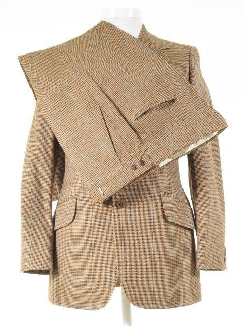 Daks London Vintage Suit Micro Houndstooth Check 38r 34w In 2019 Pennyworth Vintage Men Vintage Vintage London