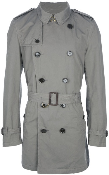 Burberry Brit Classic Trench Coat in Gray for Men (taupe)   Lyst