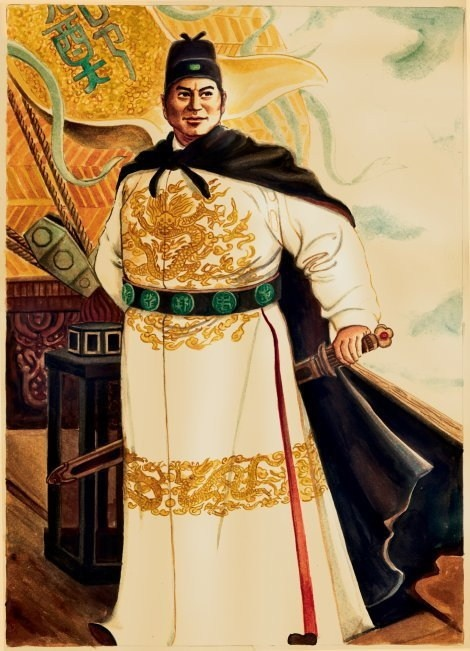 Zheng He (1371 - 1433): (formerly romanized as Cheng Ho) Hui  Court Eunuch, mariner, explorer, diplomat, and Fleet Admiral during China's early Ming dynasty. Wikipedia ~Repinned Via Jean-Louis Beck