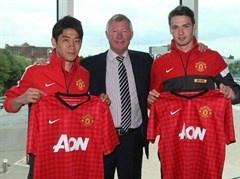 Kagawa and Powell press conference