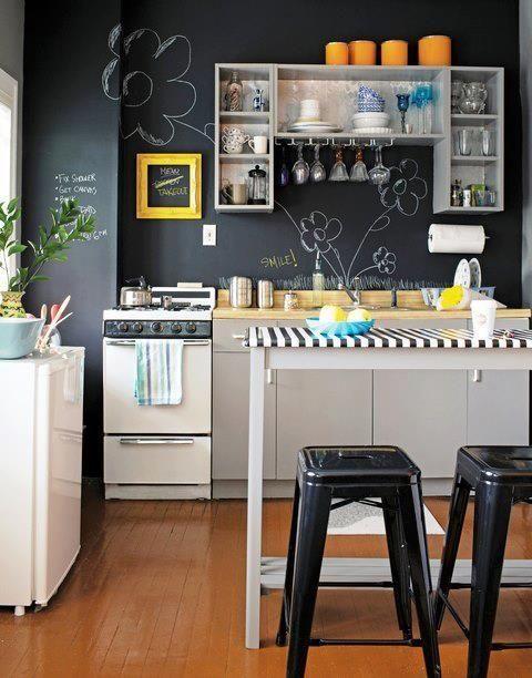 Quadro-negro na decoração. #inspiraçãodasemana #blognossolugar