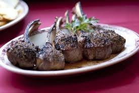 Gene & Georgetti Best Lamb Chops anywhere...