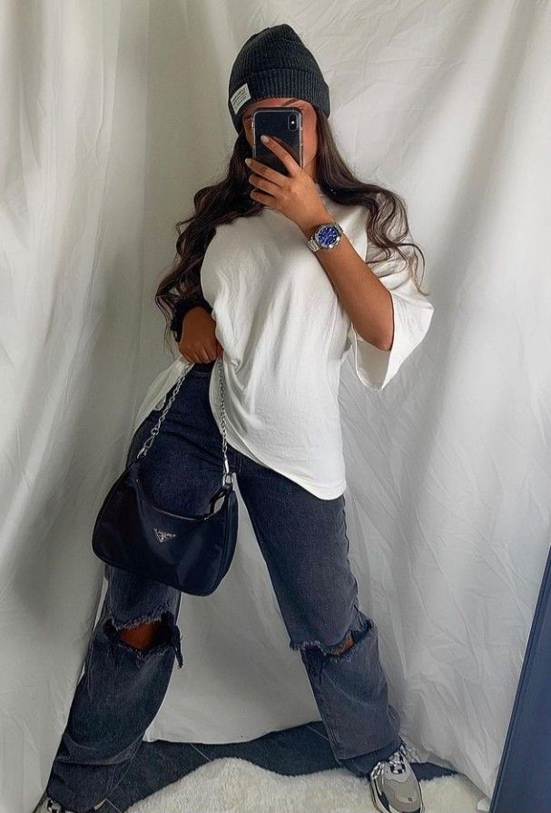 Neon Outfits, Retro Outfits, Fashion Outfits, Mein Style, Beanies, Aesthetic Clothes, Spring Summer Fashion, Plus Size Outfits, Mom Jeans