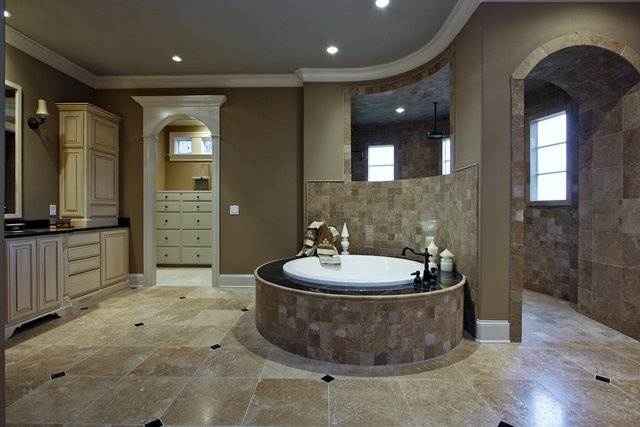 shower and tub: Dreams Houses, House Design, Houses Ideas, People Houses, Houses Design