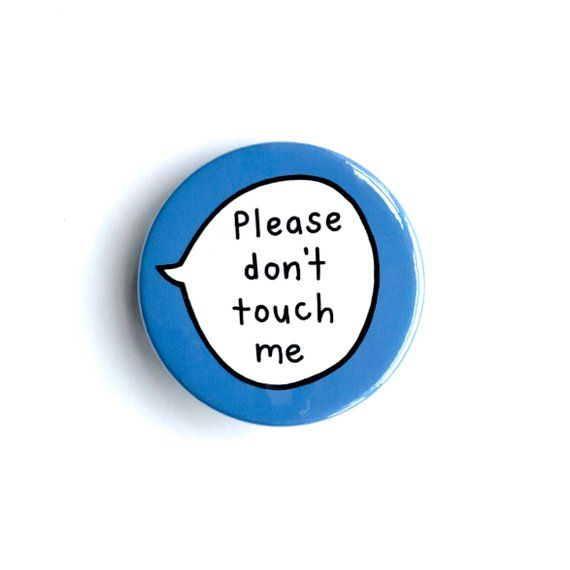 don/'t talk much I have Autism if found alone Autism Button Badges plz phone