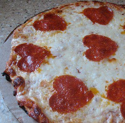 Valentines Day Pizza!