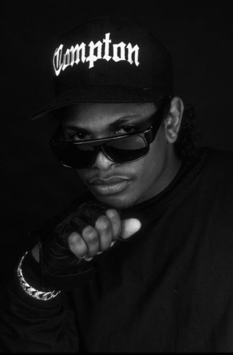 Eazy-E Godfather of Gangster Rap. With a silent C.