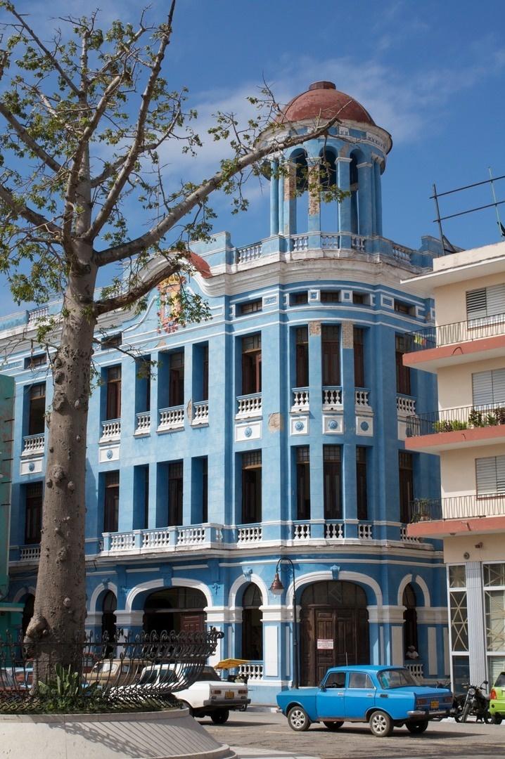 Cuba. Plaza de los trabajadores, Camaguey