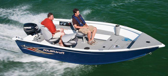 New 2013 Polar Kraft Boats NorEaster 163 T Multi-Species Fishing Boat