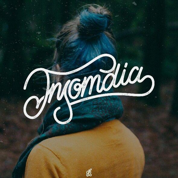 Insomdia #lettering