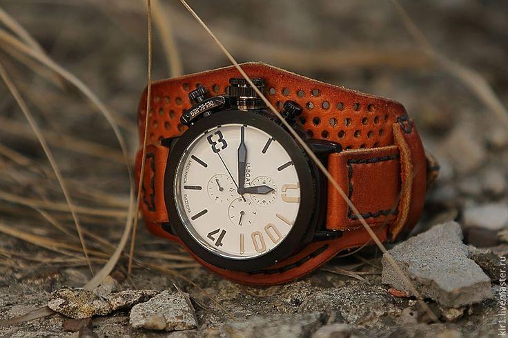 """Купить Часы с автоподзоводом """"Skipper"""" 1 - часы ручной работы, часы необычные, часы большие"""