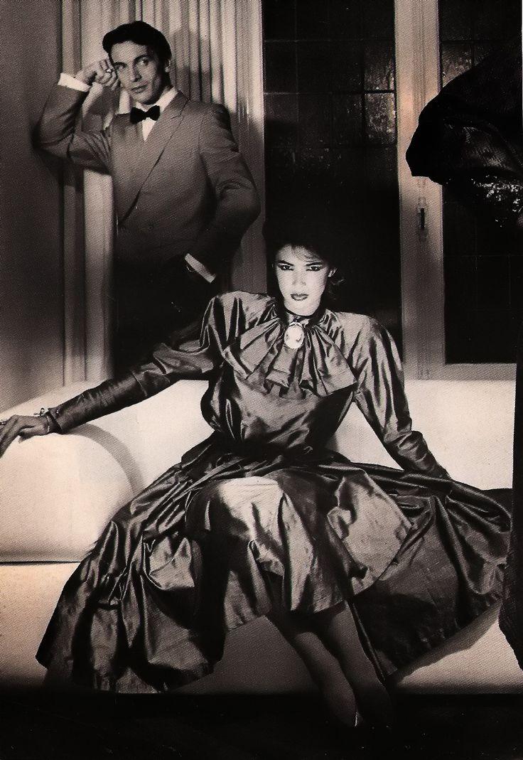 Linda Spierings dressed in Puck&Hans ± 1979