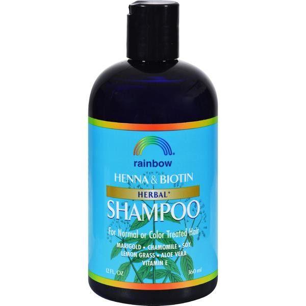Rainbow Henna & Biotin Herbal Shampoo - 12 fl oz