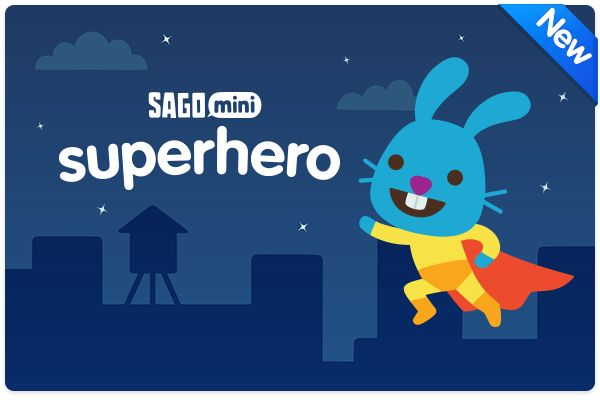 Up, up and away! Learn more about our thoughts behind Sago Mini Superhero! http://www.sagosago.com/parents/superhero/