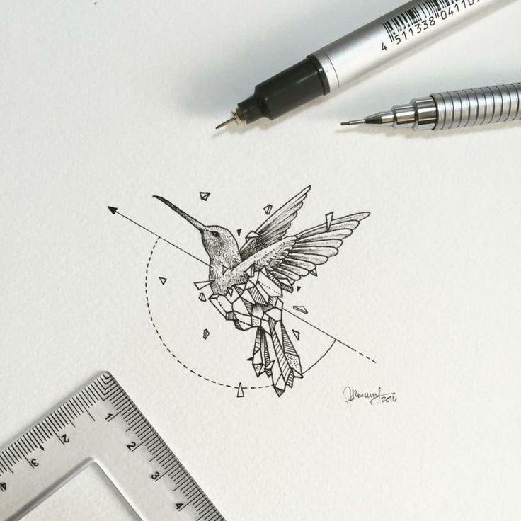Ideen für Tattoos – geometrische Designs von Kerby Rosanes