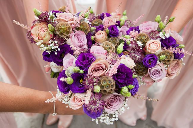 50 of the best wedding bouquets for brides and maids © andreapickering.com