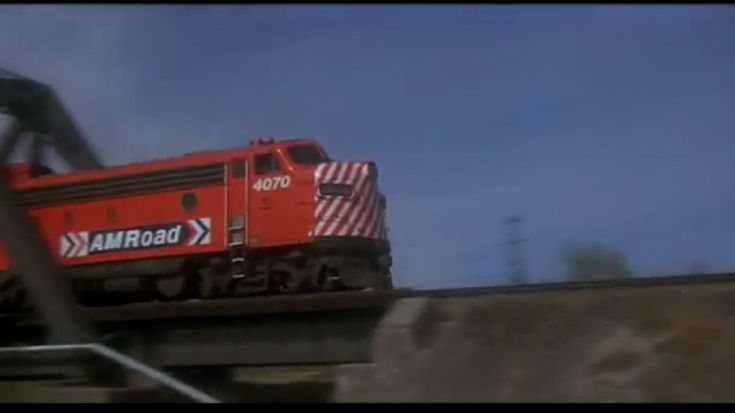 "AM Road train, 1976, From The Movie ""Silver Streak"""