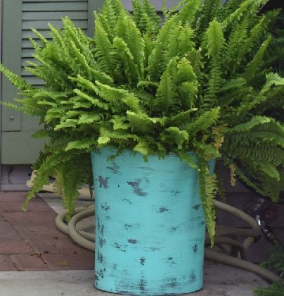 Want large planters for your front porch? Here's the $4 fix!