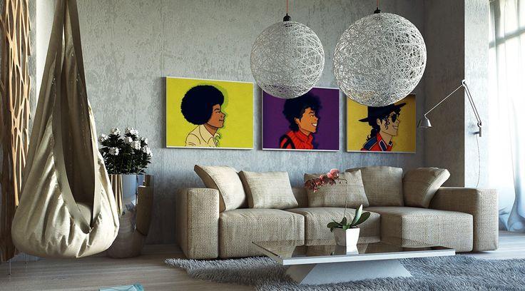 Pop Art Dekorasyon Nasıl Oluşturulur? Pop art 50'li yıllarda ABD ve İngiltere'de ortaya çıkmış 60'lı yıllarda ise sanat olarak adlandırılmıştır. Pop art dekorasyon nasıl yapılır?