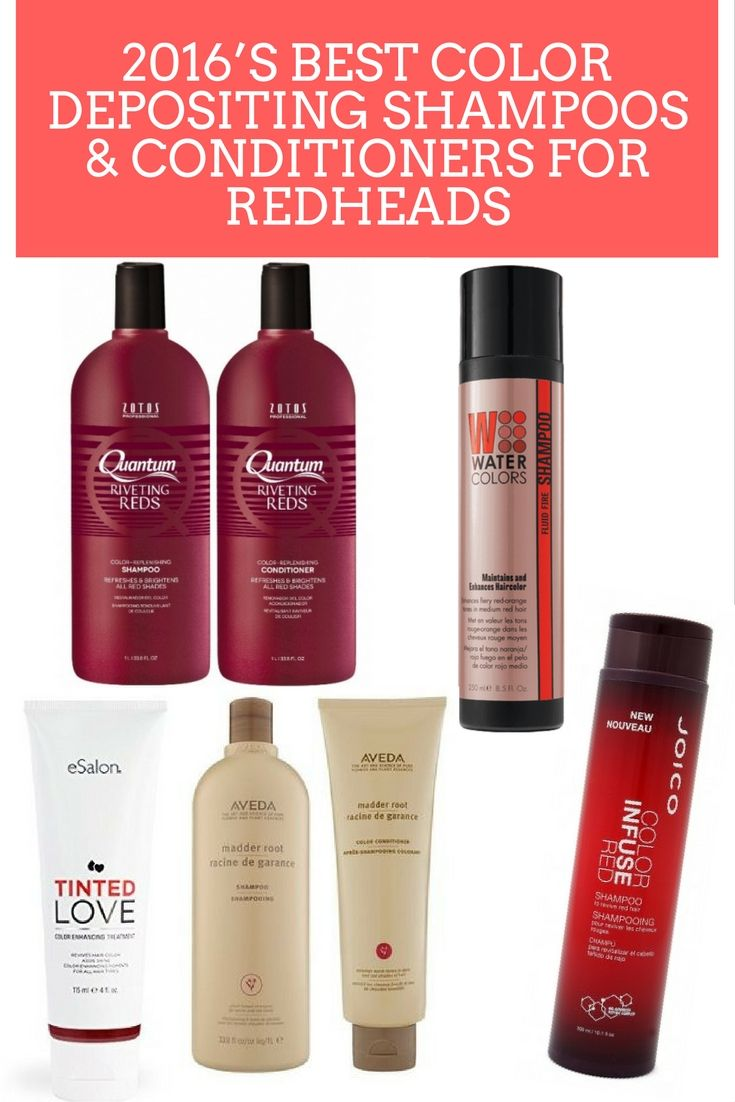 Best Color Depositing Conditioner Red