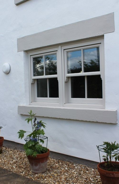 Timber Slimline Sliding Sash Windows - Bishop Auckland, Durham, North East - Timber Sash Windows in County Durham - Blackthorn Timber