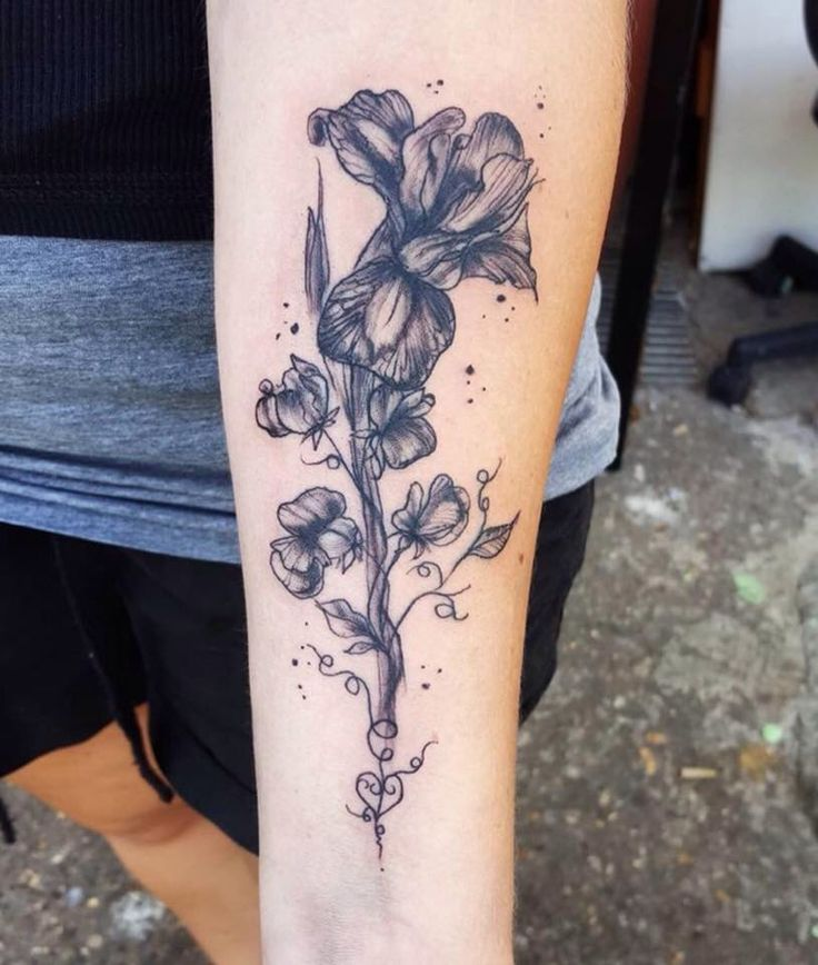 17 best ideas about sweet pea tattoo on pinterest for Sweet pea tattoo