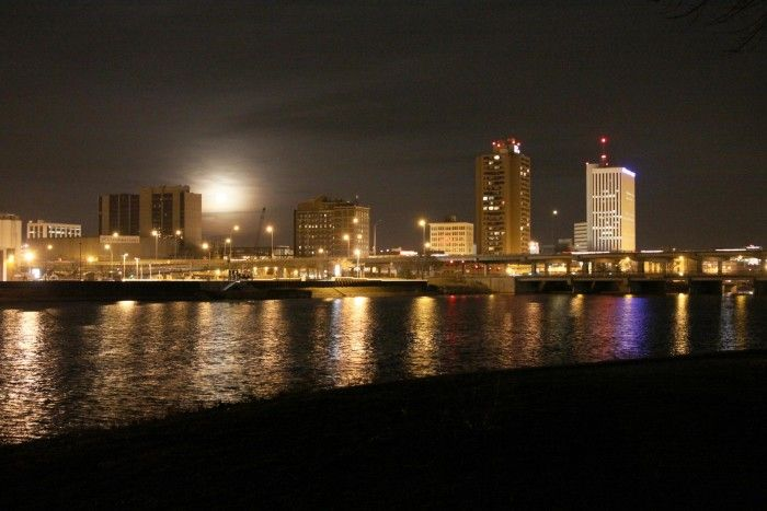Cedar Rapids, Iowa - a city I want to visit if I ever get to travel farther west than Chicago. Also the birthplace of one of my favorite actors!