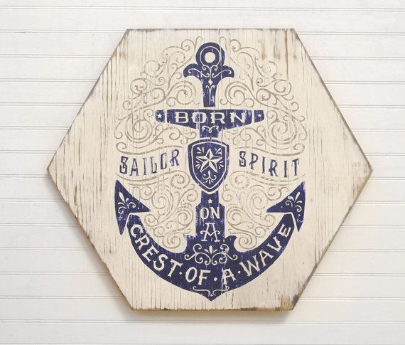 Hey, I found this really awesome Etsy listing at https://www.etsy.com/listing/261698358/anchor-wall-decor-sailor-art-beach