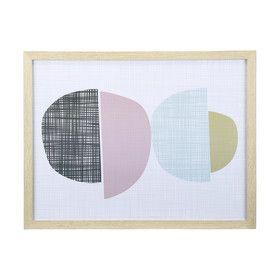 Half Circle Print - Pink